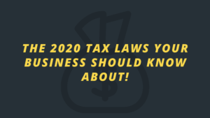 New tax laws benefit nonprofit giving in 2020!