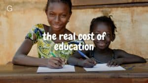 Why developing countries depend on education more than anything.